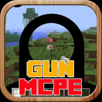 Mods Gun Mod For MCPE poster