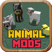 Animals MODS Packs For MCPE icon