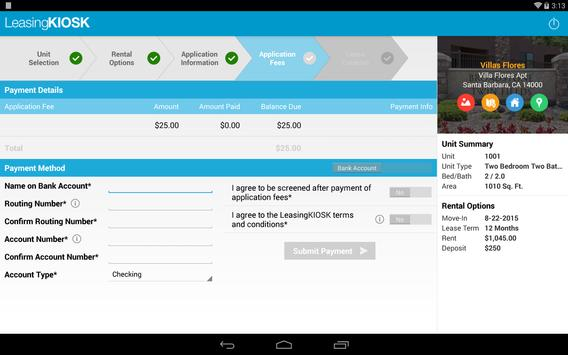 LeasingKIOSK apk screenshot