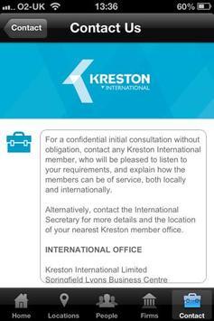 Kreston International apk screenshot