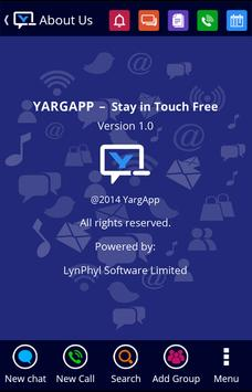 YARGAPP – Stay in Touch Free poster