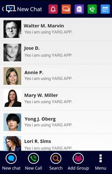 YARGAPP – Stay in Touch Free apk screenshot