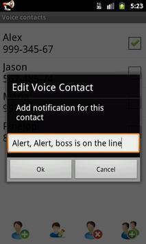 Voice Caller ID + SMS Lite apk screenshot