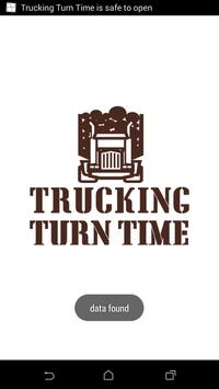 Trucking Turn Time poster