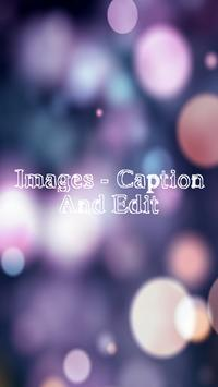 Images - Caption And Edit poster