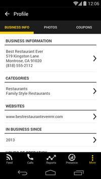 YP for Business apk screenshot