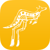 [roo] by [yellow tail] icon
