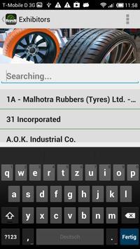 Tyres 2014 apk screenshot