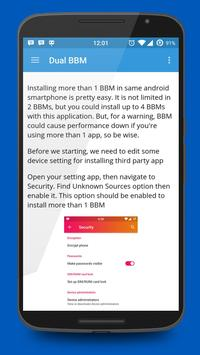 Dual BBM apk screenshot