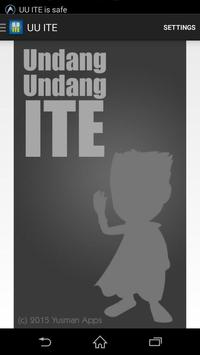 UU ITE poster