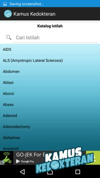 Kamus Istilah Kedokteran apk screenshot