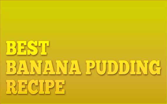 Making Banana Pudding Recipes poster