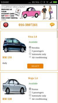 YC Car Rental poster