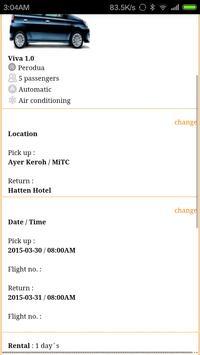 YC Car Rental apk screenshot