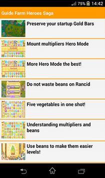 Guide Farm Heroes Saga apk screenshot