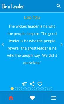 Be a leader apk screenshot