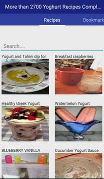 Yoghurt Recipes Complete apk screenshot
