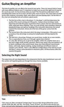 Basic Guitar Ebook apk screenshot
