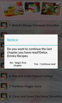 Detox Drinks Recipes apk screenshot