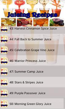 Juicing Recipes apk screenshot