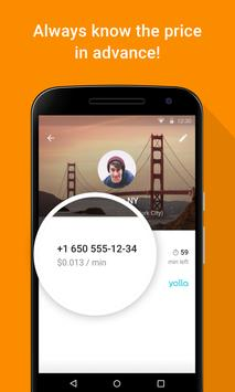 Yolla - International Calling apk screenshot