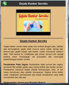 Kanker Serviks apk screenshot