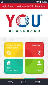 YOU Broadband India Limited poster