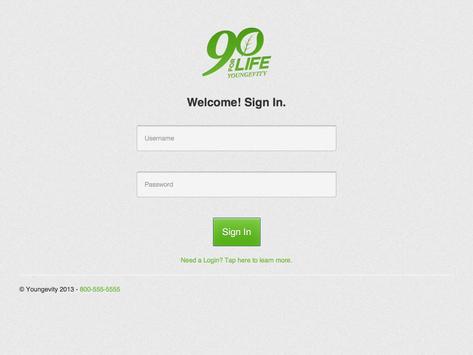 90forLifeMobile apk screenshot