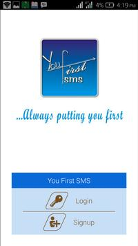 YOUFIRSTSMS apk screenshot