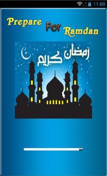 Prepare for Ramadan 2016 poster