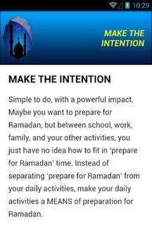 Prepare for Ramadan 2016 apk screenshot