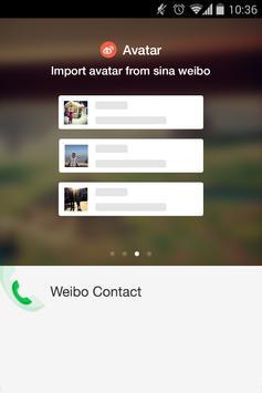 weibo contact apk screenshot