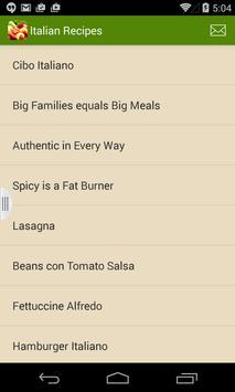 Great Italian Recipes poster