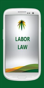 Saudi Labor Law poster