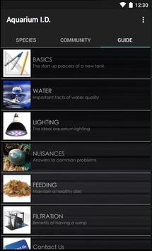 Aquarium I.D. LITE apk screenshot