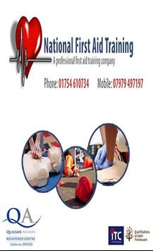 National First Aid Training poster