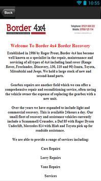 Border 4x4 Border Recovery apk screenshot