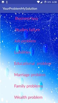 Your Problem My Solution apk screenshot