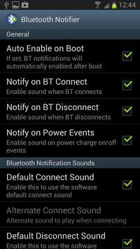 Bluetooth Notifier apk screenshot