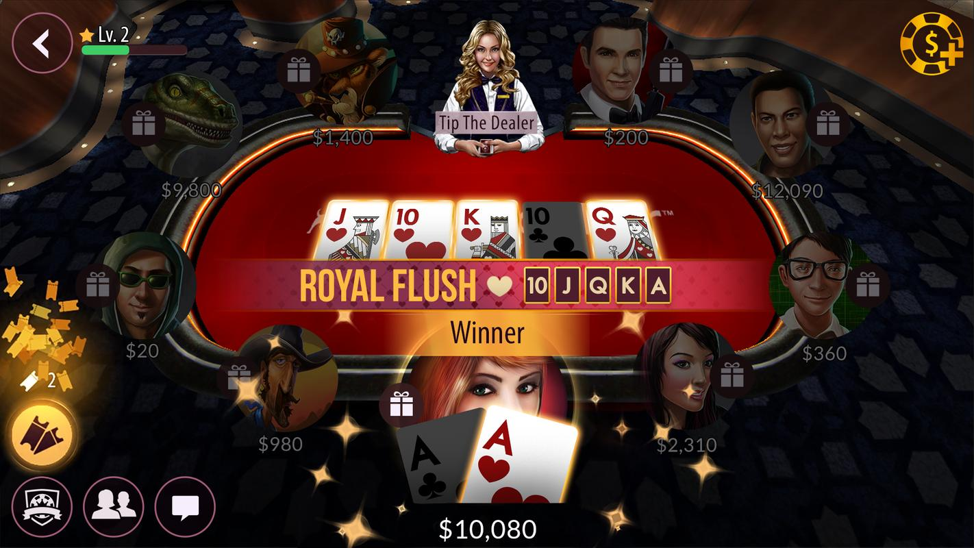 Zynga poker texas holdem download android