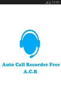 Auto Call Recorder Free – ACR poster