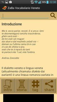 ZaBa Vocabolario Veneto poster