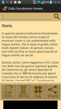ZaBa Vocabolario Veneto apk screenshot