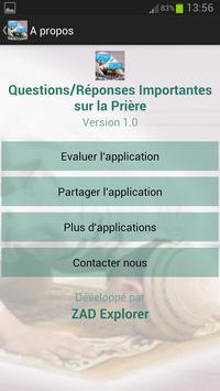 Questions sur la Prière apk screenshot