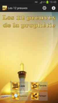 Les 12 preuves de la prophétie poster