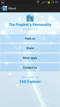The Prophet's Personality apk screenshot