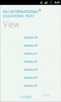 Search Hadees (Muslim) apk screenshot
