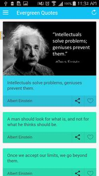 Evergreen Quotes poster