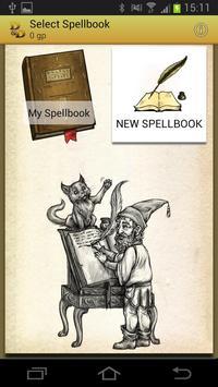 Spellbook - D&D 3.5 apk screenshot