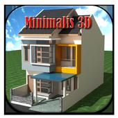 Desain Rumah Minimalis 3D icon